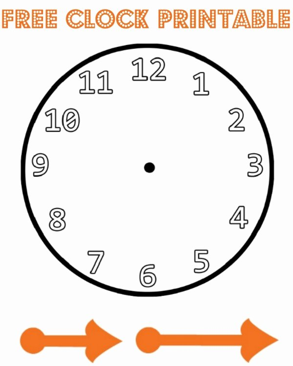Free Printable Clock Template Elegant New Year Paper Plate Countdown Clock Mum In the Madhouse