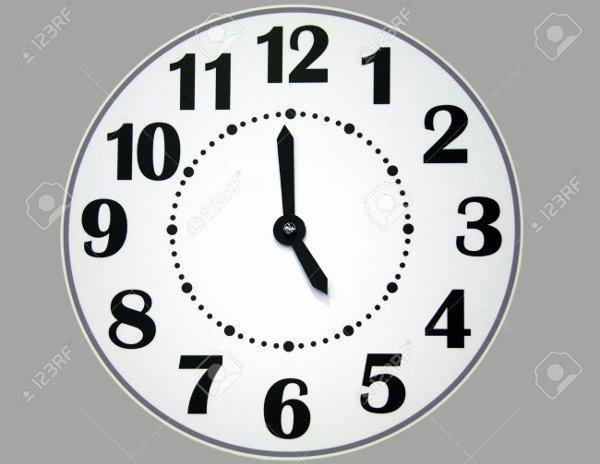 Free Printable Clock Template Fresh 9 Paper Clock Templates Psd Vector Eps Ai Illustrator