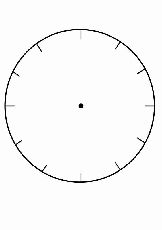 Free Printable Clock Template Inspirational Free Printable Clock Face Template for Learning to Tell