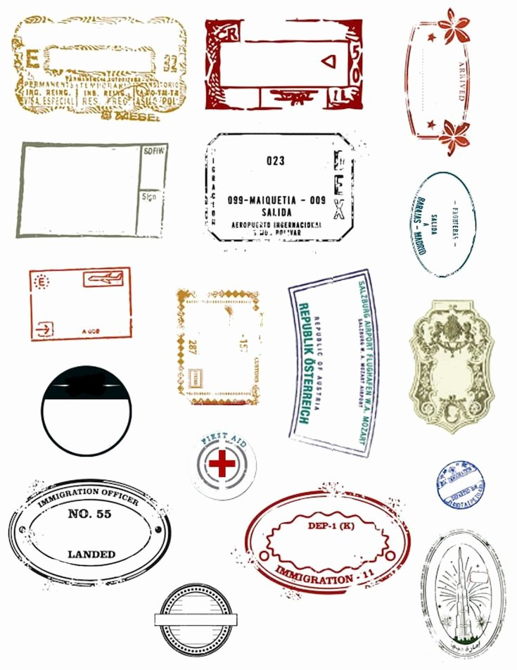 Free Printable Passport Template Best Of Best 25 Passport Stamps Ideas On Pinterest