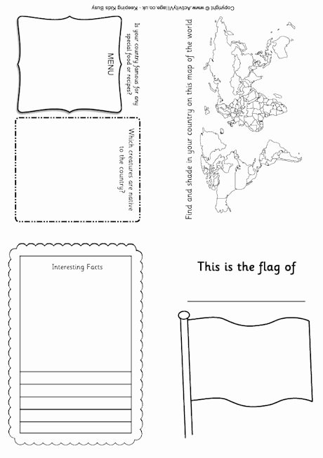 Free Printable Passport Template Elegant Passport for Kids