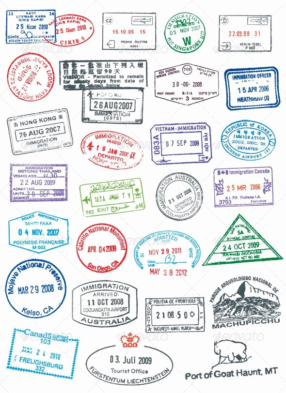 Free Printable Passport Template Lovely 116 Best Play Pretend Travel Images On Pinterest