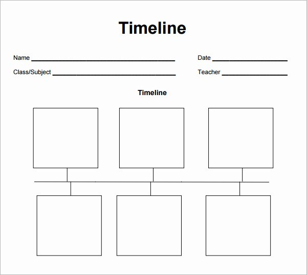 Free Printable Timeline Template Awesome 8 Best Of Blank Construction Timeline Template