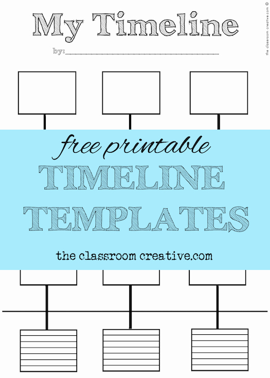 Free Printable Timeline Template Best Of Free Printable Timeline Template and Activity Inspired by