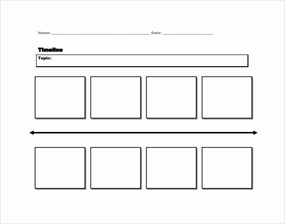 Free Printable Timeline Template Fresh 7 Sample Timelines