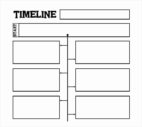 Free Printable Timeline Template Fresh Printable Timeline Template for Kids