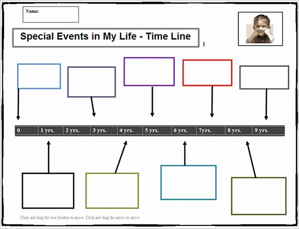 Free Printable Timeline Template Inspirational 6 Sample Timeline Templates for Students Doc Pdf