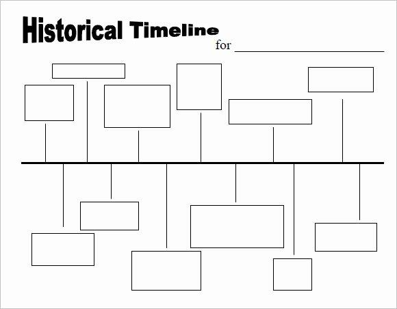 Free Printable Timeline Template Inspirational Timeline Template Printable