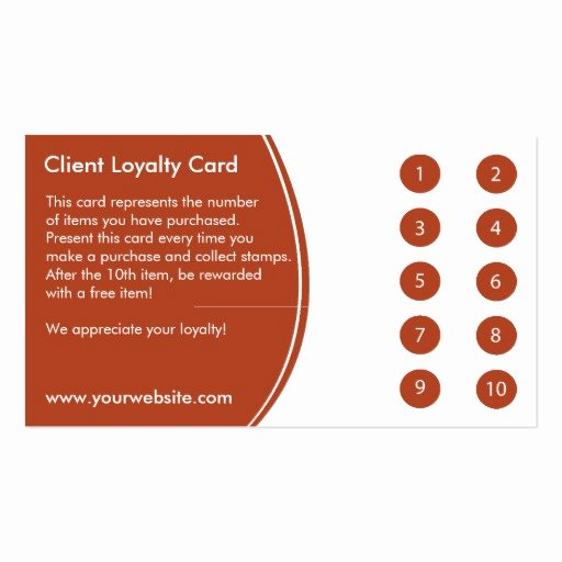 Free Punch Card Template Best Of Loyalty Business Card Punch Card