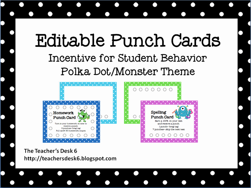 Free Punch Card Template New 9 Best Of Printable Punch Cards Free Printable