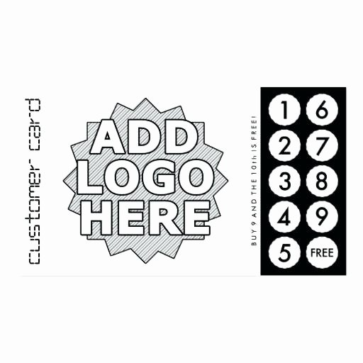 Free Punch Cards Template Beautiful Free Loyalty Stamp Card Template Free Printable Loyalty