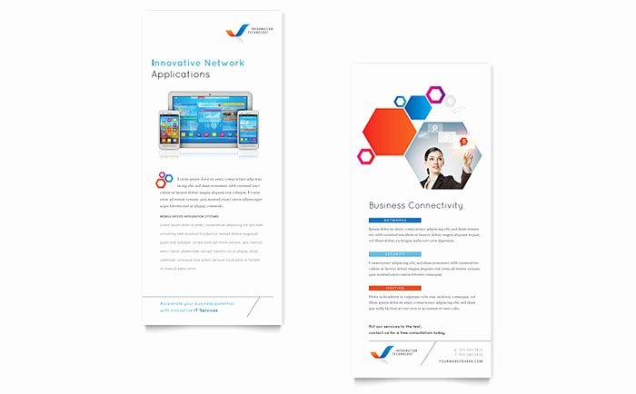 Free Rack Card Template Best Of Free Rack Card Templates