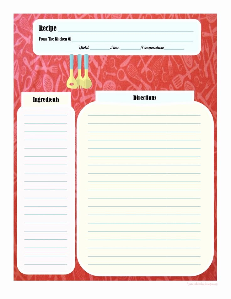 Free Recipe Book Template Best Of 17 Best Images About Printable Recipe Cards On Pinterest
