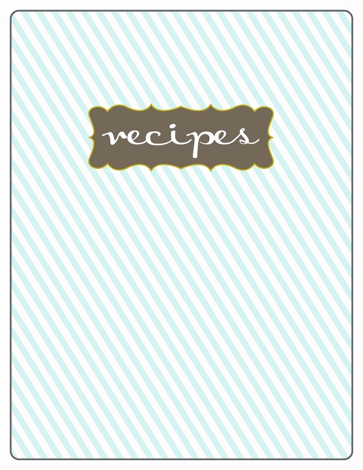 Free Recipe Book Template Elegant 11 Best Images About Cookbook & Recipe Card Templates On