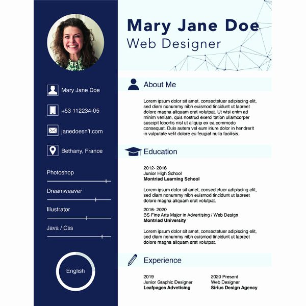 Free Resume Website Template New 36 Sample Cv Templates Pdf Doc