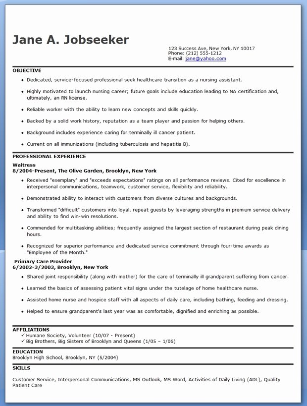 Free Rn Resume Template Best Of Resume Template September 2015