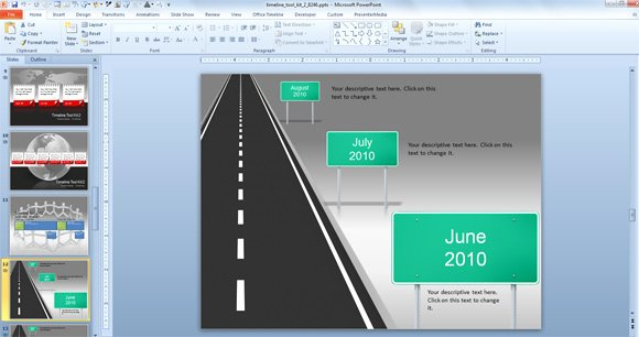 Free Roadmap Template Powerpoint Lovely Awesome Timeline Charts Template for Powerpoint Presentations