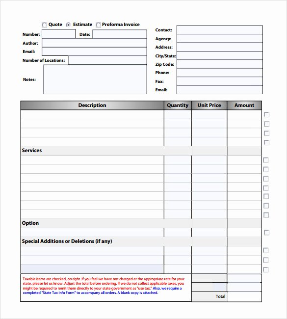 Free Roofing Estimate Template New Roofing Estimate Example Pdf