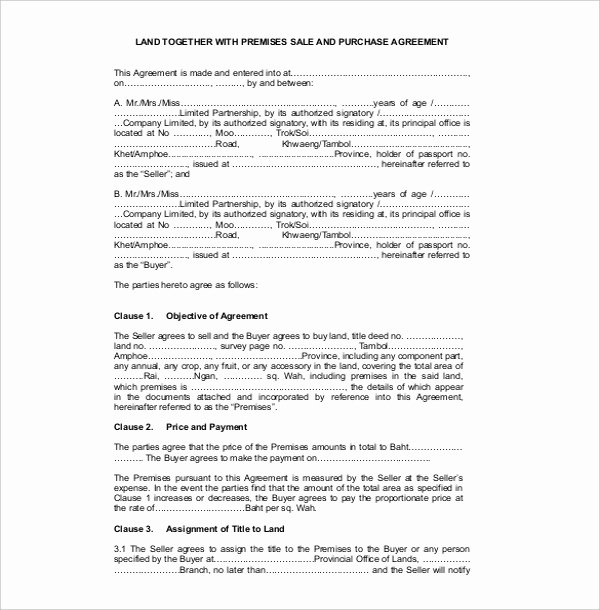 Free Sales Agreement Template New Sales Contract Template 21 Word Pdf Documents Download