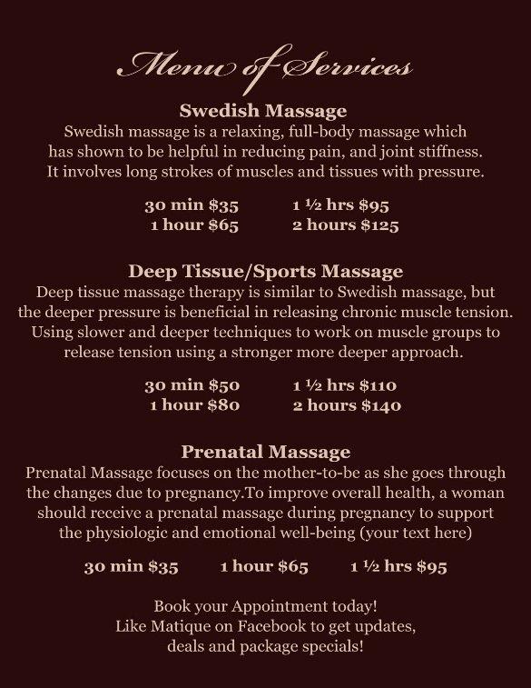 Free Salon Menu Template Luxury Spa Menu Templates – 27 Free Psd Eps Documents Download