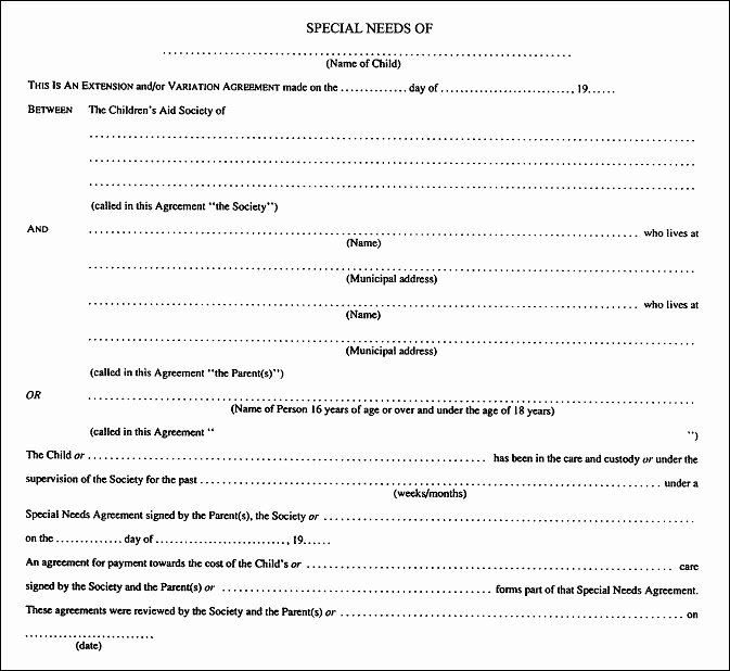 Free Separation Agreement Template Inspirational Sample Separation Agreement