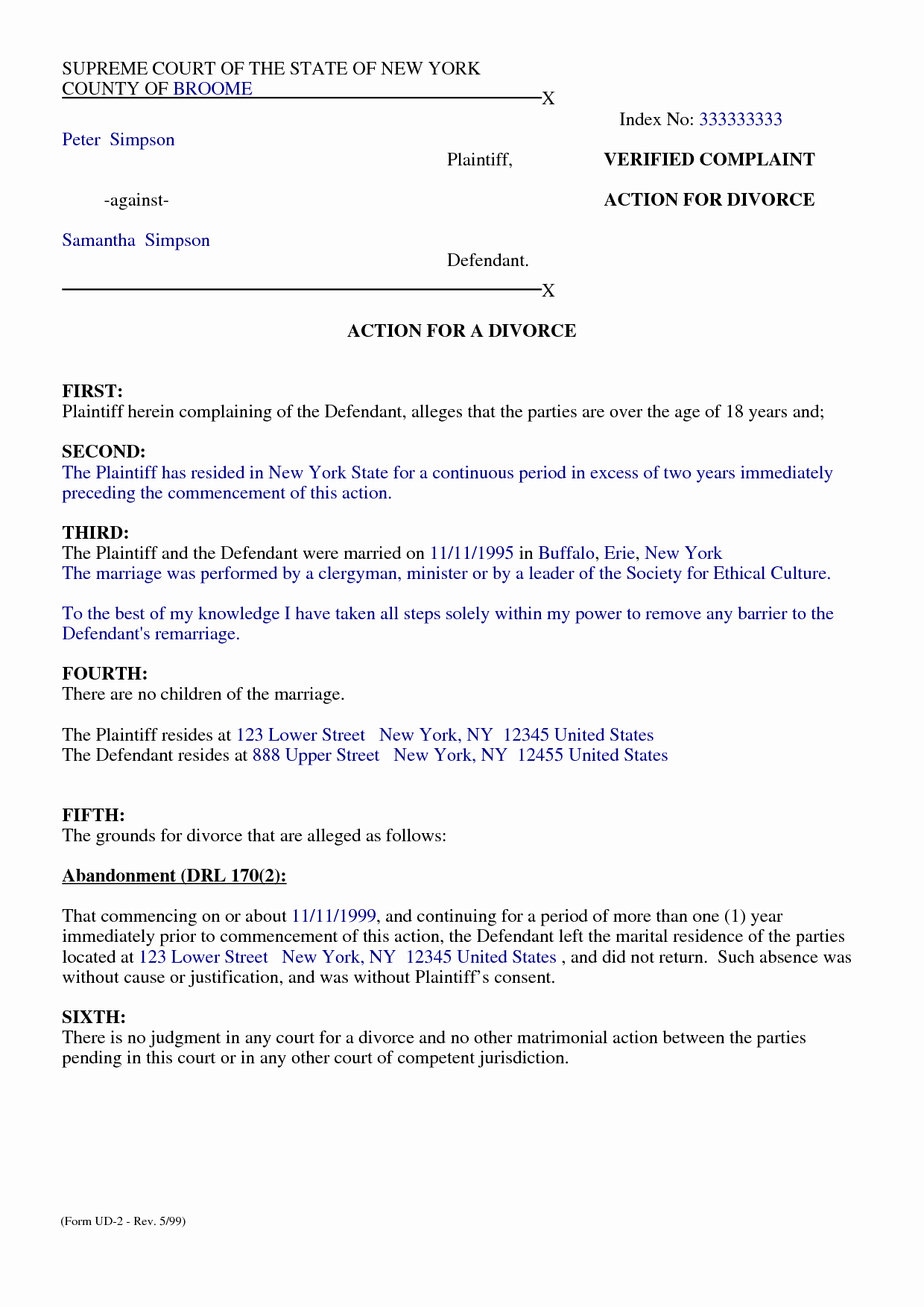 Free Separation Agreement Template Inspirational top 5 Free formats Of Separation Agreement Templates