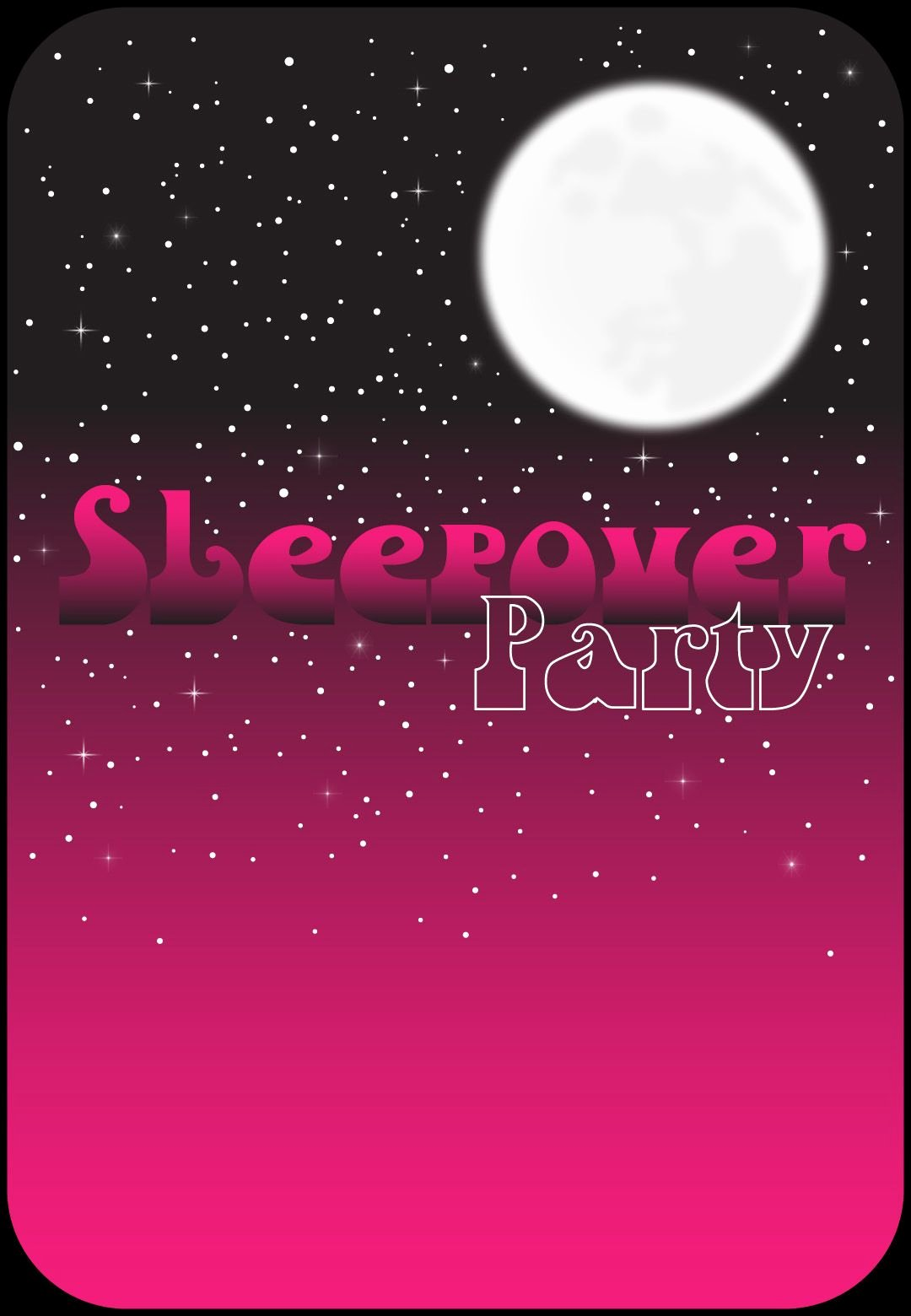 Free Sleepover Invitation Template Beautiful Free Printable Pink Night Invitation