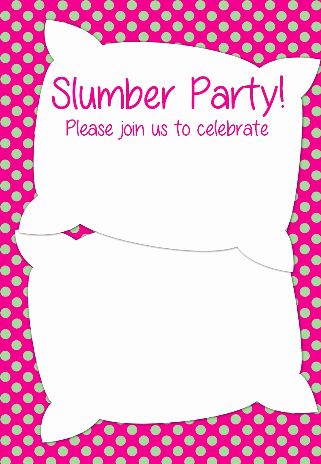 Free Sleepover Invitation Template Fresh Free Printable Slumber Party Invitation
