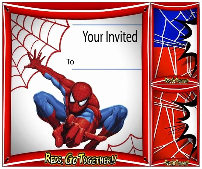 Free Spiderman Invitation Template Awesome Free Spiderman Birthday Invitation Printable