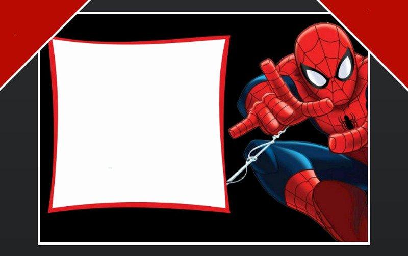 Free Spiderman Invitation Template Elegant Free Spiderman Birthday Party Invitation Template