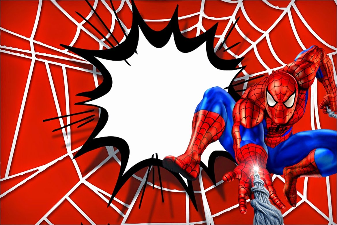 Free Spiderman Invitation Template Lovely Spiderman Free Printable Invitations