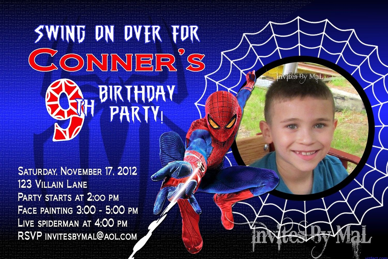 Free Spiderman Invitation Template Lovely Spiderman Invitation Template Free Download