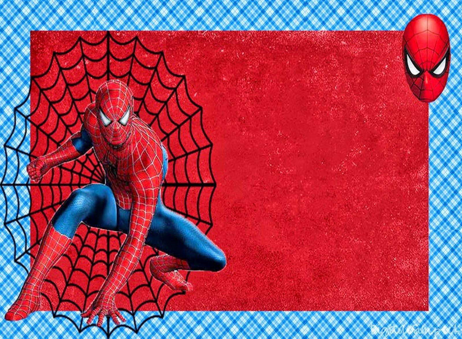 Free Spiderman Invitation Template Luxury Spiderman Free Printable Invitations Cards or