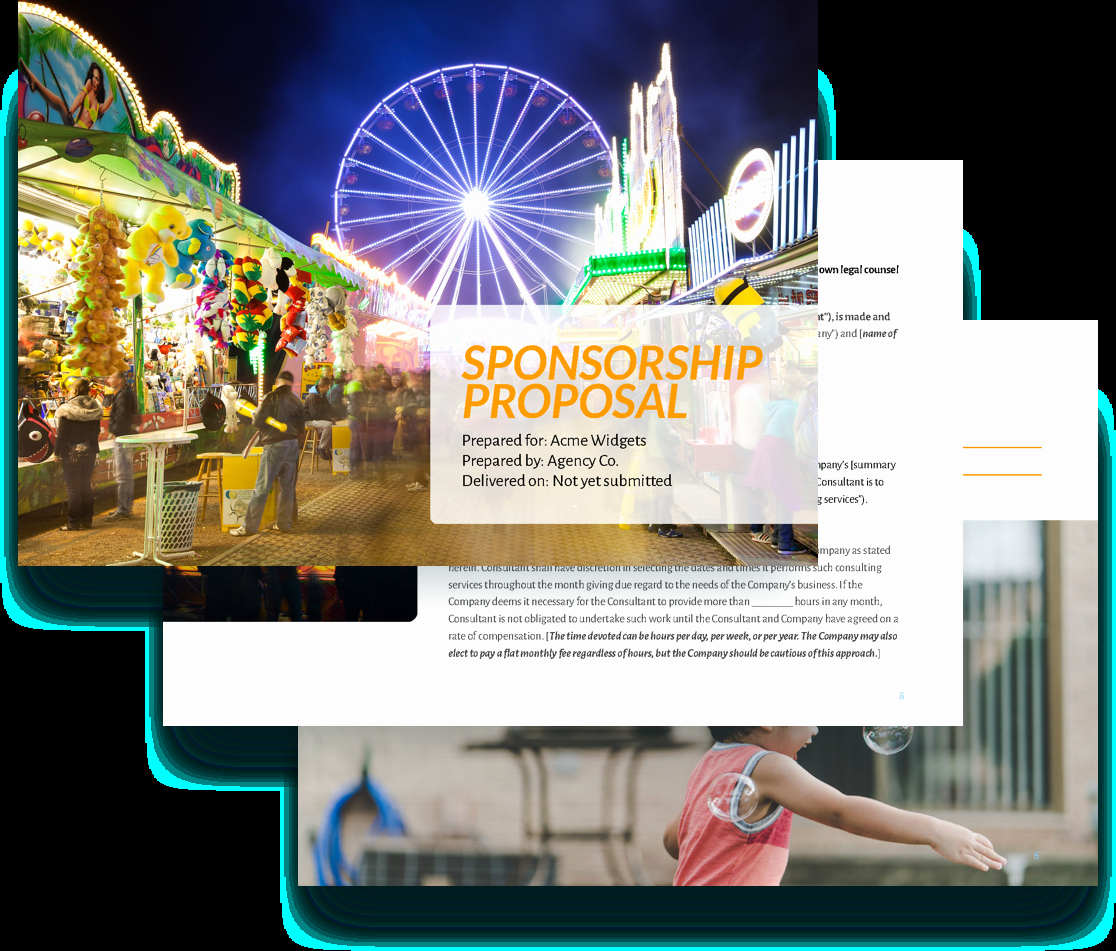 Free Sponsorship Proposal Template Awesome Sponsorship Proposal Template Free Sample