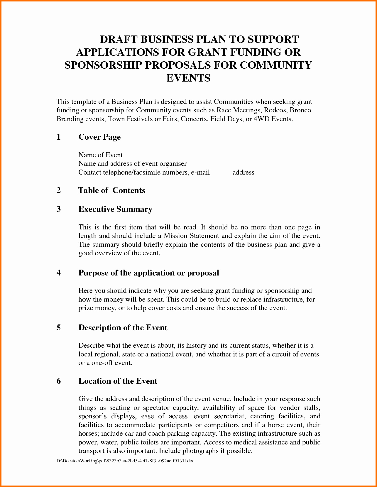 Free Sponsorship Proposal Template Luxury event Proposal Template Example Mughals