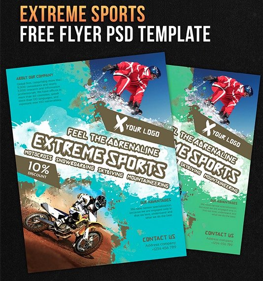 Free Sports Flyer Template Inspirational 122 Free Psd Flyer Templates to Make Use Of Fline