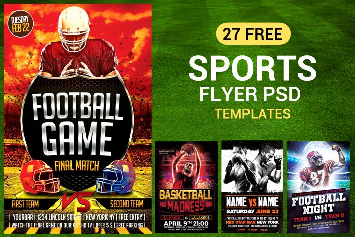Free Sports Flyer Template Luxury 27 Free Sports Flyer Psd Templates for Download Designyep