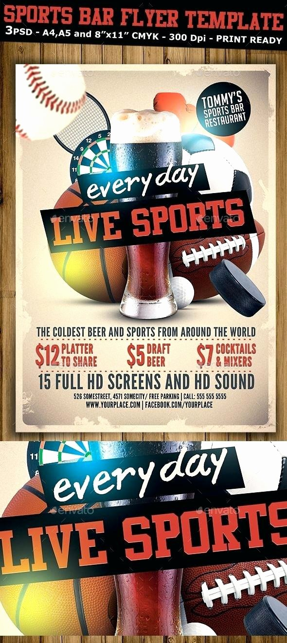 Free Sports Flyer Template Unique Sports Flyers Templates Free Pin by Bashooka Web Graphic