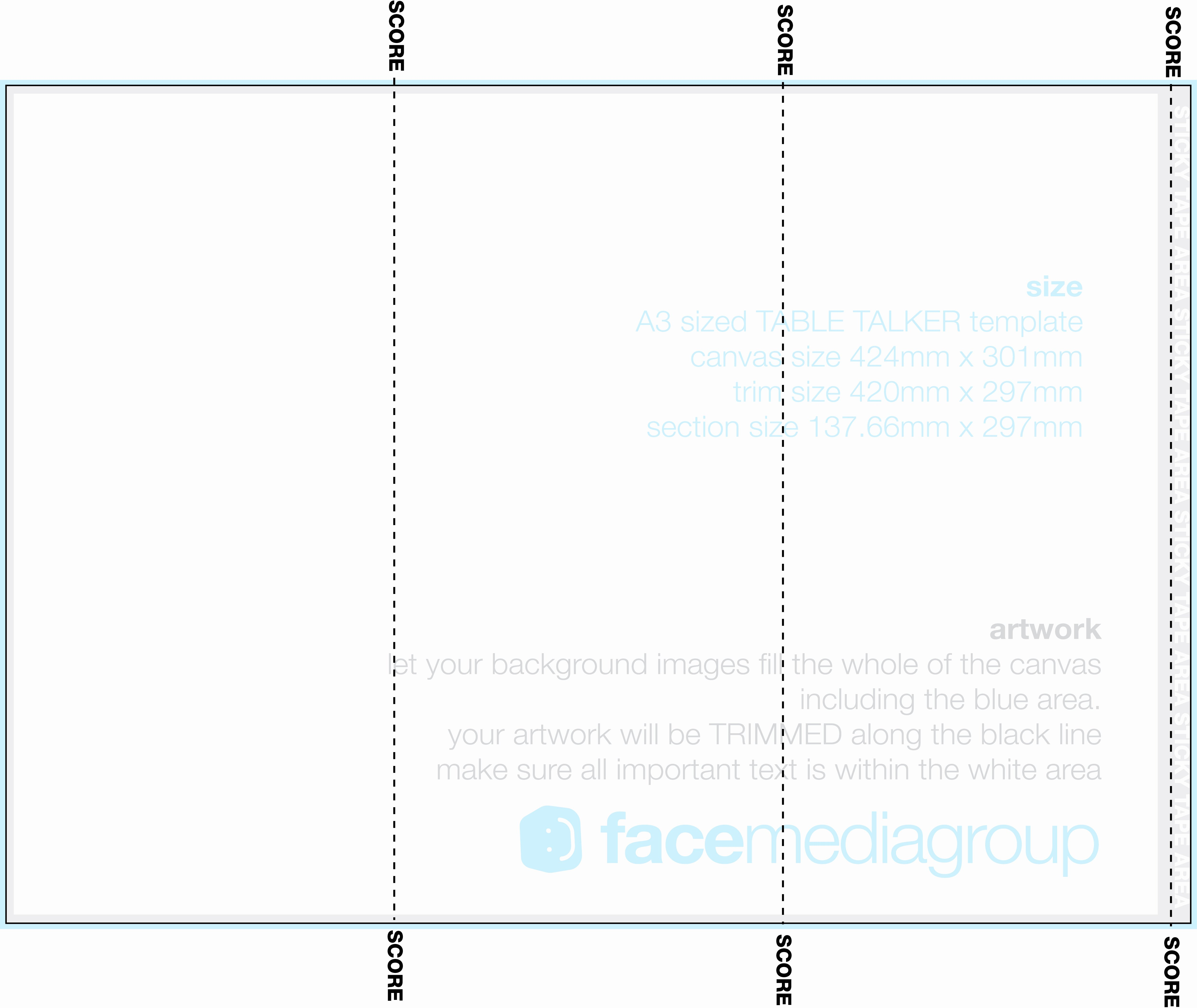 Free Table Tent Template Elegant Free 3 Sided Table Tent Template
