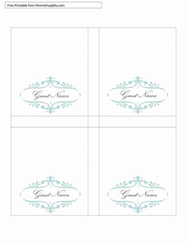 Free Table Tent Template Luxury Free Printable Table Tents Template