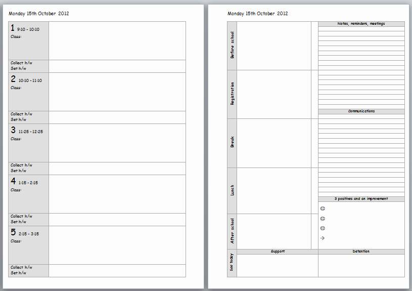 Free Teacher Planner Template Luxury Teacher Planning Weekly To Do