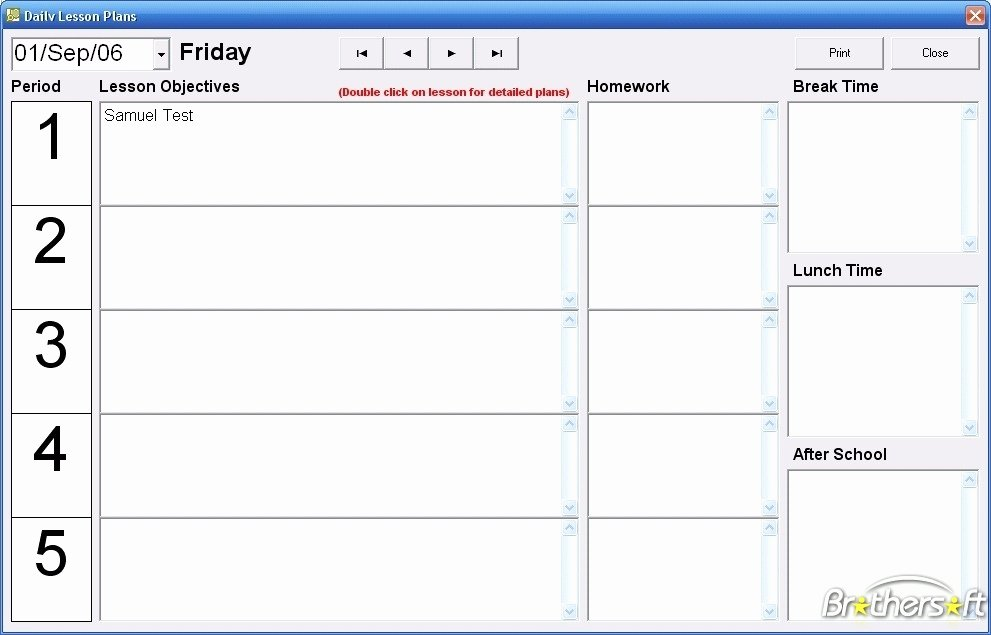Free Teacher Planner Template Elegant Download Free Teachers Lesson Planner Teachers Lesson