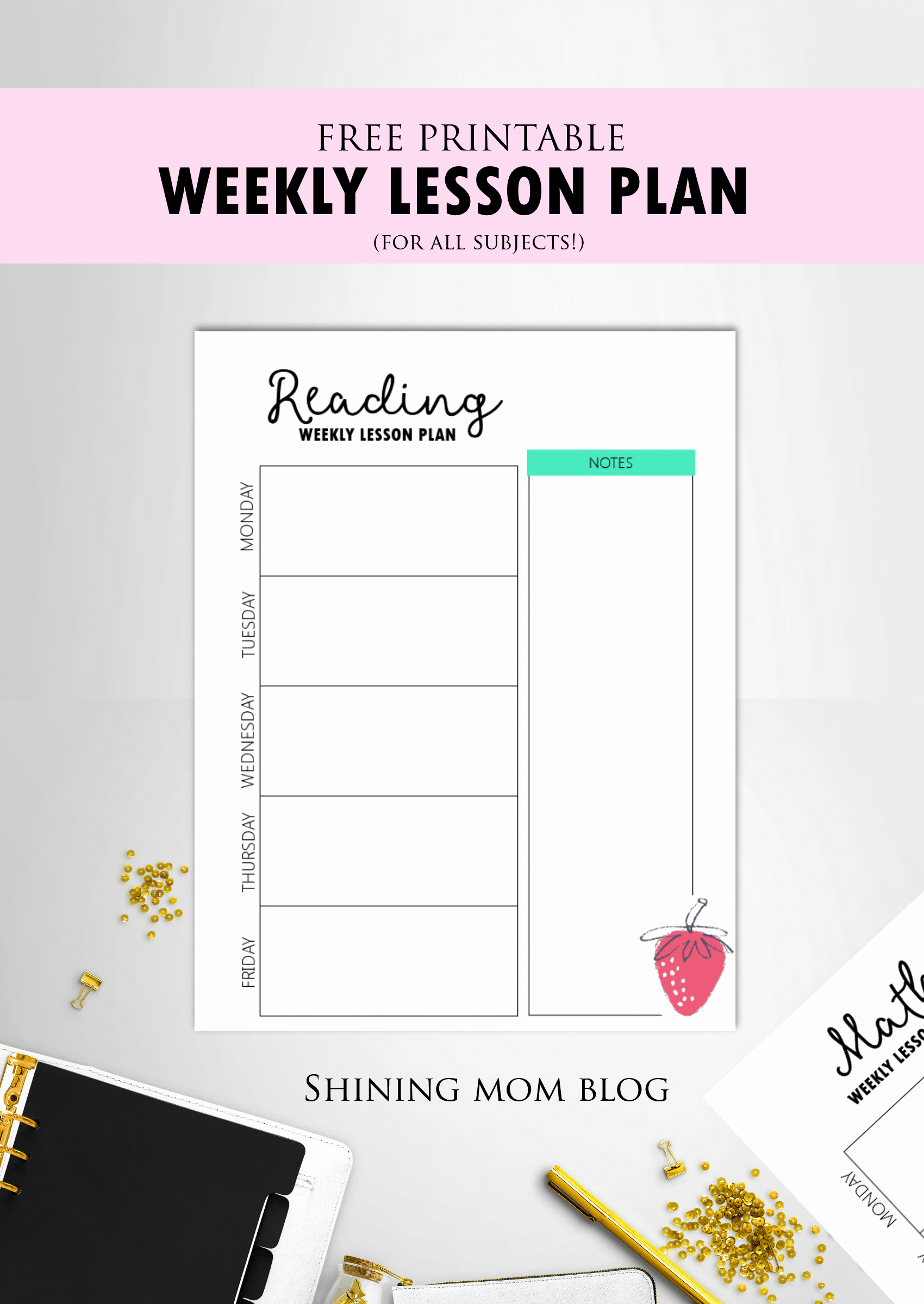 Free Teacher Planner Template Fresh Free Teacher Binder Printables Over 25 Pretty Planning