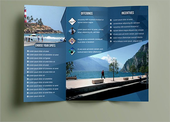 Free Travel Brochure Template Awesome 14 Travel Brochures Ai Psd Google Docs Apple Pages