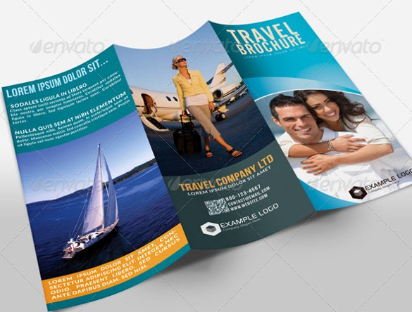 Free Travel Brochure Template Beautiful 50 Travel Brochure Templates Psd Ai Google Pages