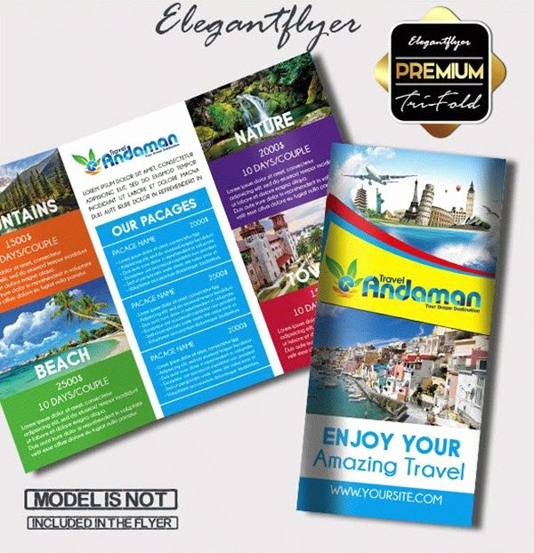 Free Travel Brochure Template Beautiful top 20 Free Vacation & Travel Brochure Templates In Psd