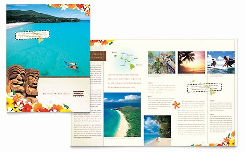 Free Travel Brochure Template Beautiful Travel Agency Brochure Template Design