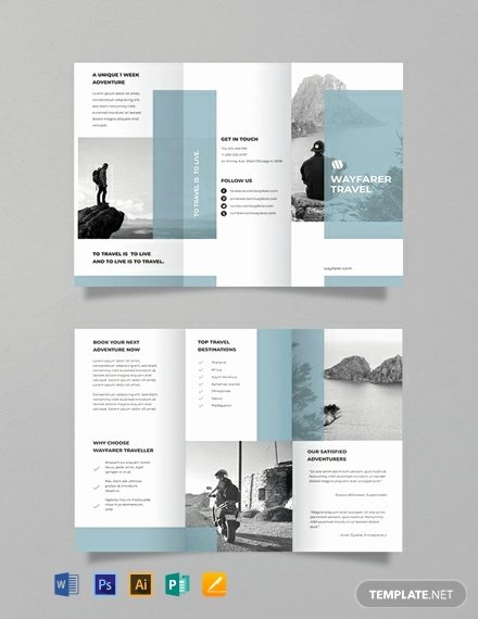 Free Travel Brochure Template Best Of 15 Free Publisher Travel Brochure Templates