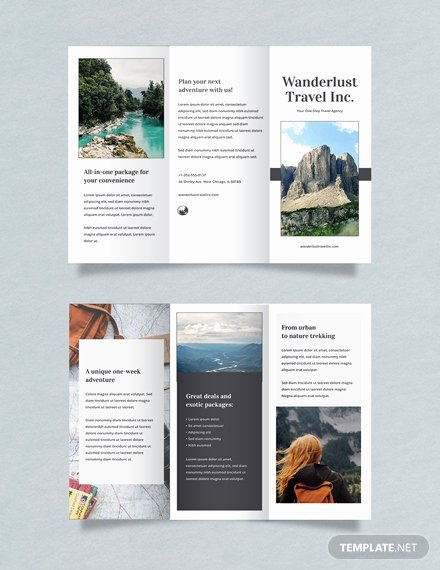 Free Travel Brochure Template Elegant Free Japan Travel Brochure Template Download 281
