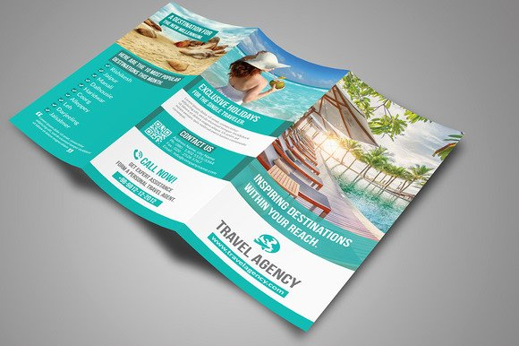 Free Travel Brochure Template Fresh Travel Agency Brochure Template Psd Free Designtube